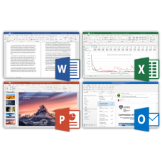 Microsoft Office 2016 Home and Business Retail Key 1PC (Phone Activation)