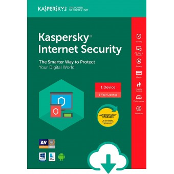 Kaspersky Internet Security 1 Pc 1 Year