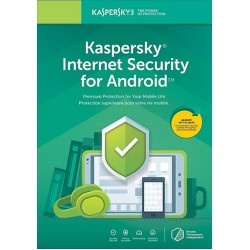 Kaspersky Internet Security 1 Pc 1 Year for Android Key