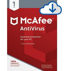 McAfee AntiVirus Plus (1 PC, 1 Year) Key
