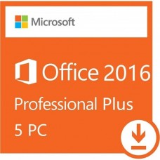 Office Professional Plus 2016 Retail 1Key for 5PC