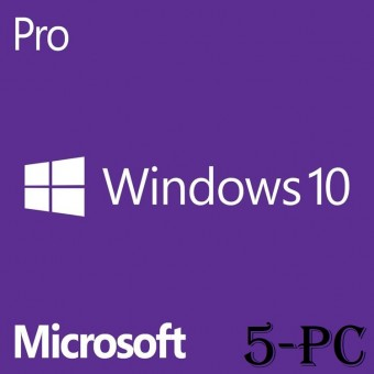 Windows 10 Professional Key For 5PC